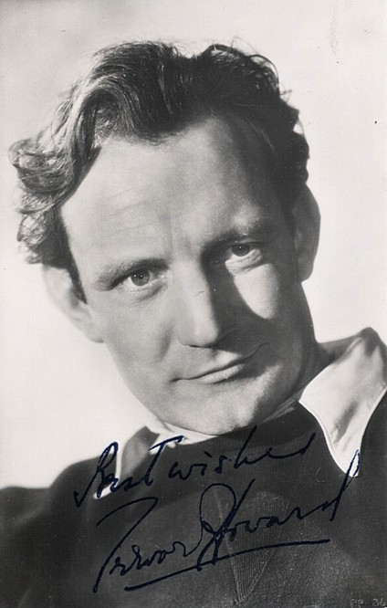 Howard, Trevor autograph photo postcard <b>SOLD</b>